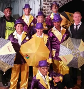 La troupe de Kaapse stories show